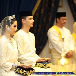Raja zarith sofia wedding